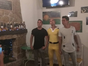 despedida de soltero de Saitama one punch man en denia